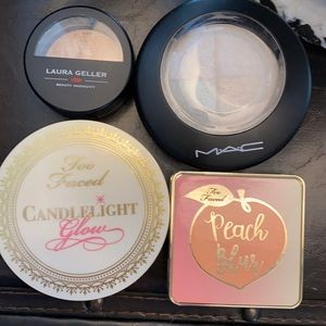 Lot of 4 powder Highlighters
